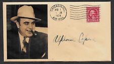 Al Capone Collector's Envelope Original Period 1920s Stamp OP1133