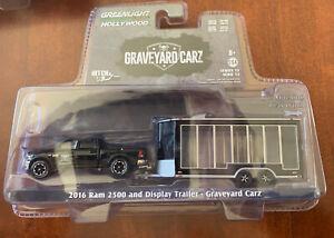 "2016 Dodge Ram 2500 and Display Trailer Black ""Graveyard Carz"""