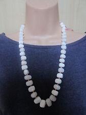 Lola Rose White Multi Semi Precious Stones Bead Necklace & Pouch  NEW / BNWT