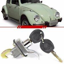 Decklid Lock Rear Hatch Engine Hood Lock Handle with 2 Keys Chrome 113.827.503.A