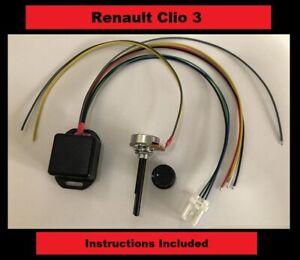 Renault Clio 3 - Kit - Electric power steering controller box - ECU plug - EPAS