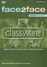 Face2face Advanced Classware DVD-ROM, , Excellent condition, Book