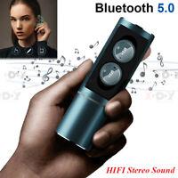 Wireless Earbuds Mini TWS True Bluetooth 5.0 Stereo Earphones Waterproof Headset