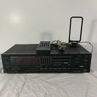 Kenwood KR-A56R AM FM Stereo Receiver w/ Antenna & Remote | Tested Works Great!