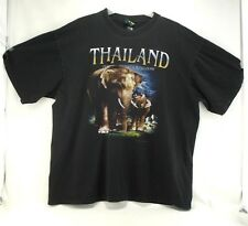Thailand Elephant Kingdom T Shirt JOLIGOLF Black XL