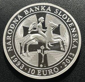 Slovakia 2013 10 Euro Silver Coin