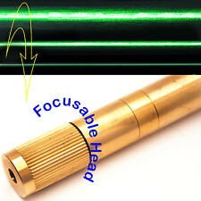 Focusable 532nm 50mW Green Laser LINE Module/Adjustable Beam Size/Green Laser