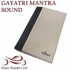 220V ELECTRONIC WIRED VOCAL DOORBELL - GAYATRI MANTRA SOUND (HINDU) DOOR BELL