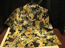 ERIKA Woman Tropical Print Short Sleeve Blouse, SZ - 1X
