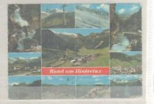 POSTCARD USED RUND um HINTERTUX AUSTRIA 1978 7A39