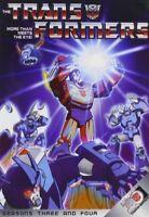 Transformers: Season Three and Four [New DVD]