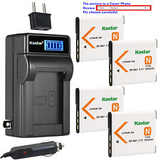 Kastar Battery LCD AC Charger for Sony NP-BN1 BC-CSN & Sony Cyber-shot DSC-W350