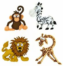 Dress it up Buttons, Silly Safari, Scrapbooking,  craft