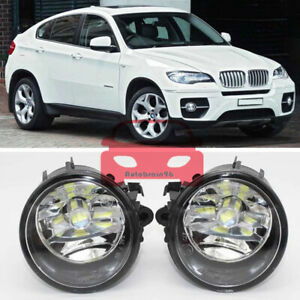 2Pcs Fog Light Fog Lamp For BMW X6 E71 E72 2013-2015 63177311351 63177311352