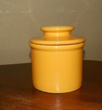 Butter Bell Crock ~  L. Tremain ~ Golden Yellow ~ Vintage ~ Mint