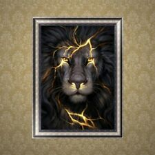 Ferocious Lion 5D Diamond Embroidery Painting Kit DIY Cross Stitch Modern Decor