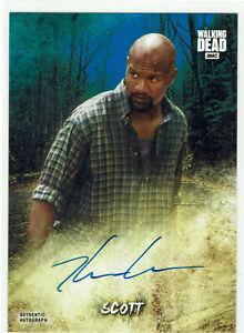 Walking Dead Road to Alexandria Autograph Card AC-KG Kenric Green Scott #35/50