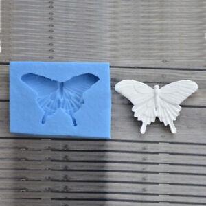 Butterfly Silicone Fondant Mould Cake Decor Chocolate Baking Sugarcraft Mold DIY