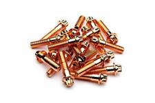 180x Rose Gold Split Rim Bolts M8 x 32mm HRE IFORGED ROTIFORM WORK Steel Screws