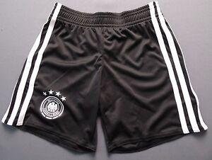 Germany Shorts Euro 2016 Home Size 5-6 y Kids Football Soccer Adidas AA0139 ig93