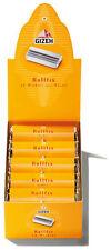 GIZEH Rollfix Bobinador / Set de 10 (Rodillos, Torno)