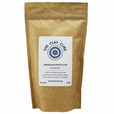 Premium White Kaolin Clay - 250g Superfine by Clay Cure - Healing & Cleansing