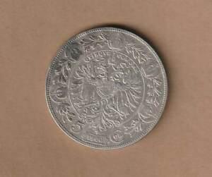 "1900; Österreich ""5 Kronen"" Silbermünze SAZ2913 , ANK Nr.71 , Erh. ss"
