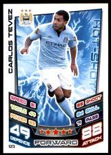Match Attax 2012-2013 (Manchester City) Carlos Tevez No. 123