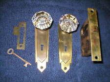 New listing Antique Deco Complete working lockset