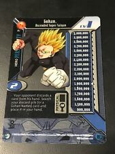 DBZ CCG GOHAN ASCENDED SUPER SAIYAN LV1 HI-TECH A1 PROMO ULTRA RARE DRAGON BALL
