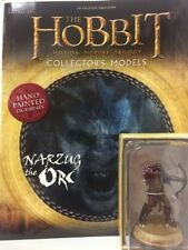 Eaglemoss * Narzug * #7 orc figur & magazine hobbit lord of the rings lotr NEU