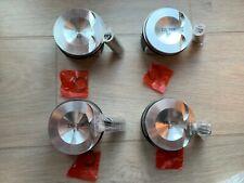 4x PISTON AND RINGS FOR Vw Audi 2.0 L TFSI TSI Skoda Seat Altea Golf Alhambra