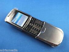 Original Nokia 8800 Luxus Edelstahl Silber Handy ABSOLUT NEU Lifetimer 0:00 NEW