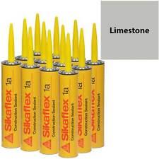 Sikaflex 1A Polyurethane Sealant, 10.1 fl oz, 12 Pack, LIMESTONE