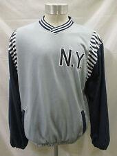 New York Yankees Men's Large Pullover V-Neck Cloth Designer Jacket MLB A13TL