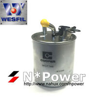 WESFIL DIESEL FUEL FILTER FOR Nissan	Patrol 3.0L 09/07-on GU VI ZD30 CRD TURBO