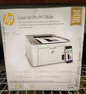 HP LASERJET PRO M118DW LASER PRINTER BLACK & WHITE