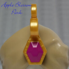 LEGO Minifig TURBAN JEWEL Gold Purple/Pink Sheik Snake Charmer Head Gear Hat Gem