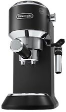 De'Longhi Dedica Style, Traditional Barista Pump Espresso Machine - Black - NEW