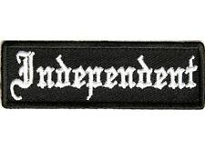 INDEPENDENT Embroidered Jacket Vest Patch Funny Saying Biker Emblem