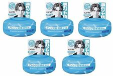 Gatsby Moving Rubber Cool Wet Hair Styling Wax 80g Mandom Made in Japan