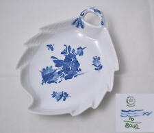 Royal Copenhagen Blaue Blume Blue flower braided - Blattschale Cake dish -