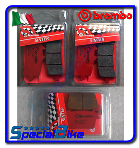 BREMBO FRONT / REAR BRAKE PADS SET FOR SUZUKI GSXR 600 2011 > 2017