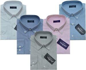 "Collar 16/"" Large BNWT Men/'s Tom Hagan  Long Sleeve Shirts 1 Pocket"