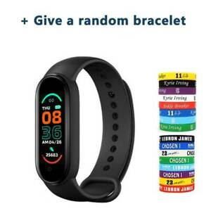 LANON M6 Sports Fitness Tracker Smart Watch Blood Pressure For iPhone Android