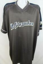 333ce6a8c01 Milwaukee Brewers Big Mens 2XL 3XL 6XL or 2XT Embroidered Pullover Jersey  MBW 28