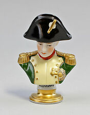 Kämmer Porzellanfigur Büste Napoleon mit Hut H10cm 9944204