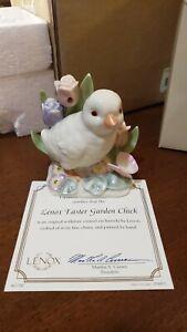 Lenox Easter Garden Chick Figurine W/COA Mint condition