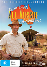 Russell Coight's All Aussie Adventures series 1, 2 & 3 + Celebrity DVD R4 New
