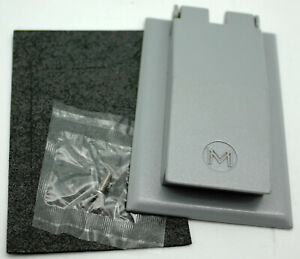 Mulberry 30550 Self-Closing Device Cover Duplex Combination Receptacle